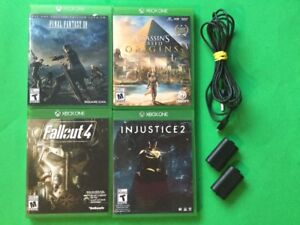 ***Final Fantasy, Injustice 2, Ass Origins, Piles rechargeables