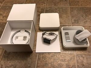 Apple Watch 42mm with Link Bracelet (AppleCare+) PRICED TO SELL