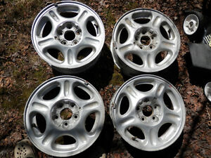 Set of alloy rims