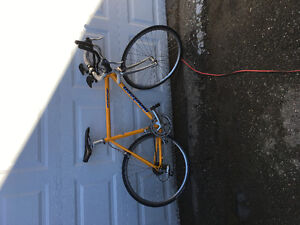 Road Bike with Trainer