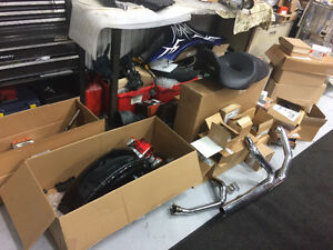 brand new harley parts take offs right from show room floor