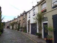 Elegant Georgian 'A' Listed Mews House - Circus Lane. Pets Welcome