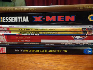 XMen Trade Paperbacks and Hardcovers(16)
