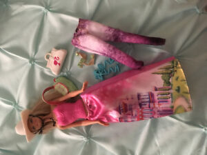 Barbie with accessories