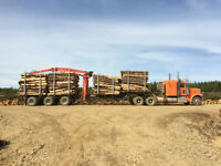 Round Wood Self Loader Operator - Night Shift