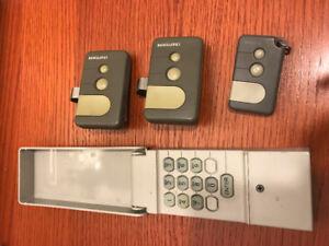 Garage Door Opener Remotes and Keypad