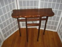 Really Small Wall Table