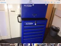 Snapon blue point tool roll cab