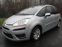 07/57 CITROEN C4 PICASSO 2.0 HDI EXCLUSIVE SEMI AUTO IN MET SILVER