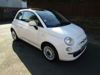 2013 (63) Fiat 500 1.2 ( s/s ) LOUNGE Petrol Manual (£30 Tax)