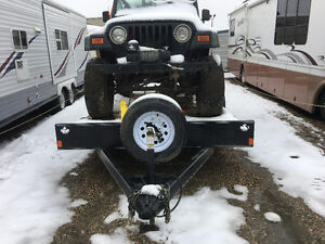 BRAND NEW!! 18 FOOT TANDOM AXLE CAR HAULER!!!!