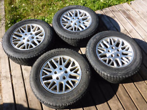 5 Winter Tires - all on rims - 235/65/R17