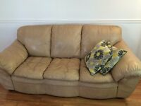 Leather couch for sell