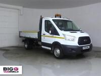 2015 FORD TRANSIT 350 TDCI 125 SINGLE CAB 'ONE STOP' ALLOY TIPPER DRW TIPPER DIE