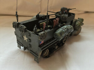 "Forces Of Valor ""WWII US M3A1 Half Track "" London Ontario image 4"