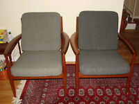"""Chaises """"Easy chair"""" vintage"""