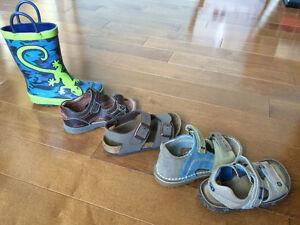 Chaussure Garçon TAILLE 7 1/2 : Sandale Birkenstock Kikers Botte