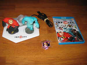 Disney Infinity Wii U Game, Base and Figures Starter Pack