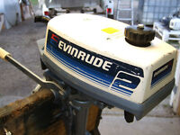 EVINRUDE 2 HP OUTBOARD MOTOR
