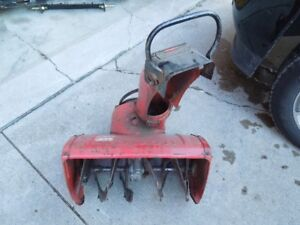 HONDA HS55 Snowblower Parts:  Auger, Auger Housing and Gearbox