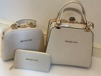 New MK MICHAEL KORS 3pcs Handbag&Purse XMAS GIFT SET! BARGAIN!