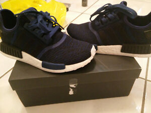 Adidas Mystic Blue NMDs (with box) Size US 7.5