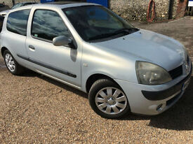 2004 '54' Renault Clio 1.2 Extreme 3. Petrol. Manual. 3 Door. First Car. Px Swap