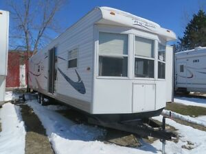 TRAVEL TRAILERS, TENT TRAILERS,PARK MODELS &  MOTOR HOMES  WANTE