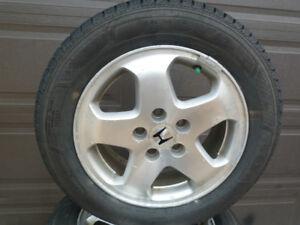 4 205/60R16 TUYO Celsius All Weather tire on HONDA Alloy Rims