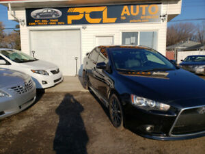 2015 Mitsubishi Lancer SE!AWD!Leather!Remote Starter!Sporty