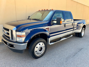 2008 FORD F-450 LARIAT CREW CAB DUALLY FX4 DIESEL ! GREAT DEAL !