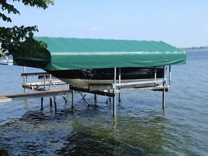 DOCK RITE BOAT LIFTS DRAL3000 and ALUMINUM DOCKS