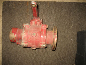 OFF OLDER FIRE TRUCK AKRON Solid Brass Swing Out Water Valve