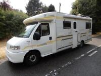 Machzone Silver Jubilee 1999 3 Berth Rear U Shaped Lounge Motorhome For Sale