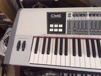 CME Uf80 v2 professional weighted keyboard midi master controller