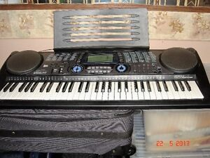 Keyboard with stand,seat.volume pedal and accessories