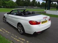 BMW 4 SERIES 435D M SPORT XDRIVE CONVERTIBLE 2015/65