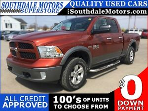 2013 RAM 1500 SLT * 4WD * POWER GROUP * REAR VIEW CAMERA * LOW K