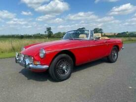 1976 MG MGB roadster in red
