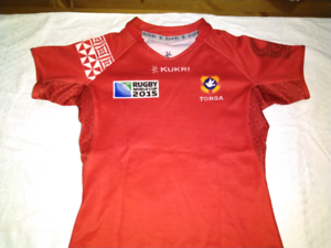"""Tonga Rugby 2015 - Men's L 42"""" - Excellent condition"""