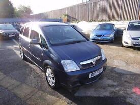 2006 Vauxhall Meriva 1.4 i 16v Active 5dr (a/c)