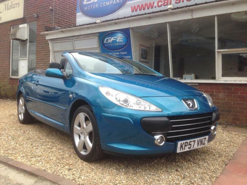 2007 57 peugeot 307 cc 2 0 16v sport coupe convertible cabriolet in norwich norfolk gumtree. Black Bedroom Furniture Sets. Home Design Ideas