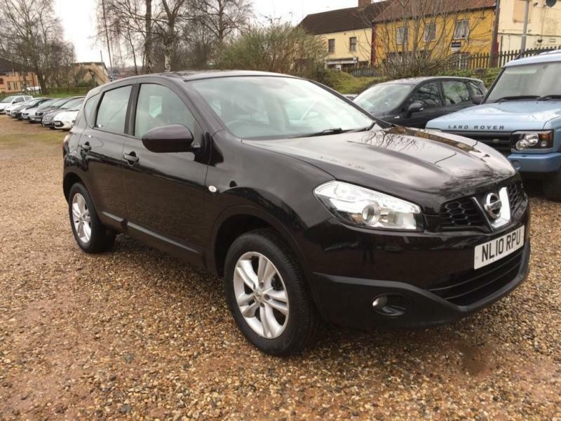 2010 nissan qashqai 1 5 dci acenta 2wd 5dr in norwich norfolk gumtree. Black Bedroom Furniture Sets. Home Design Ideas