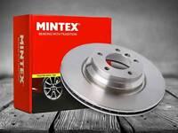 MINTEX FRONT BRAKE DISCS (2x DISCS) - MDC2192 (SAAB 9-5, VAUXHALL INSIGNIA)