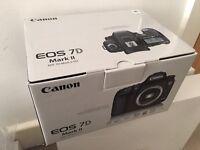 Canon EOS 7D Mark II DSLR + Sigma 17-50mm f2.8 Lens