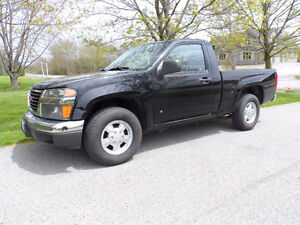 2008 GMC Canyon Pickup Truck, Fully Certified, Low kms.
