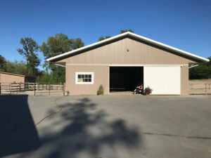 ONE Stall/Paddock in Campbell Valley, Langley