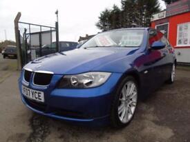 2007 BMW 3 Series 318d SE 4dr,FSH,12 months mot,Warranty,Px welcome 4 door Sa...
