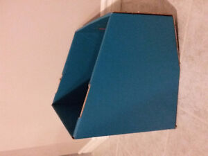 Set of 3 teal blue container storage bins Brand new London Ontario image 3
