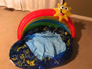 Like new Infant inflatable swimming pool
